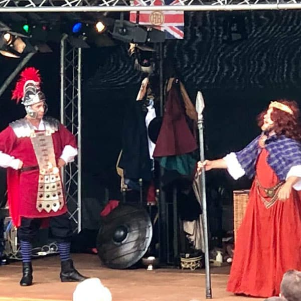 A Horrible Histories performance
