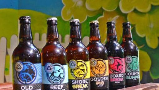 A selection of our bottled beer