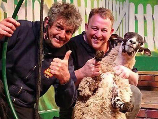 When considering things to do in bad weather, don't forget our live sheep shearing show.