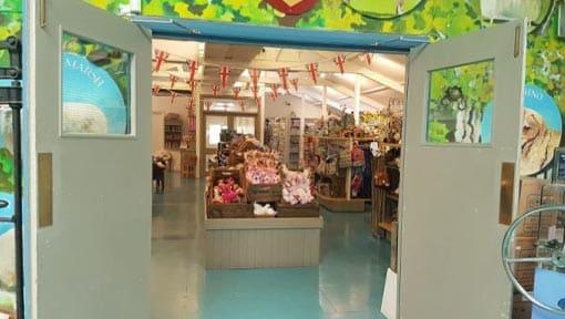 The Sheepy Shop entrance