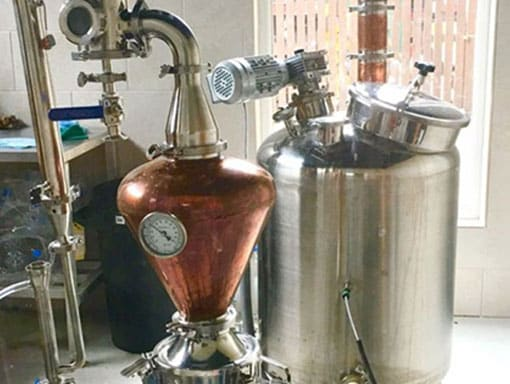 The Big Sheep Gin distillery