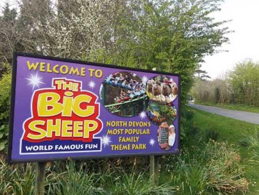The Big Sheep Sign
