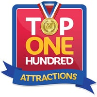 Top one hundred attractions