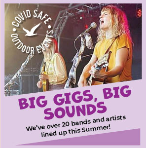 Big gigs and big sounds at The Big Sheep
