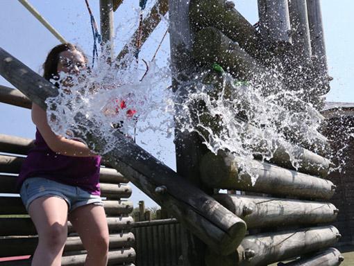 Fun at the Splash Zone