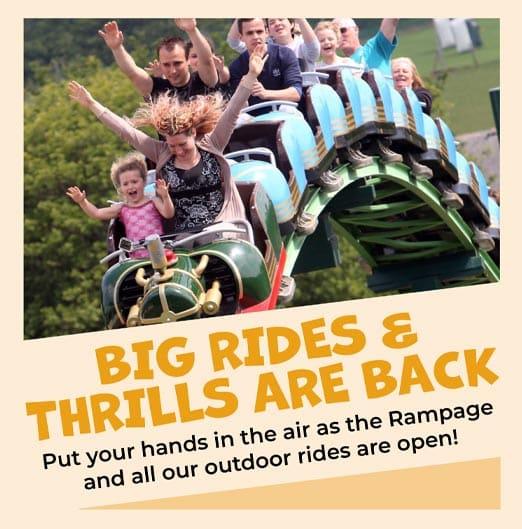 Big rides and big thrills at The Big Sheep