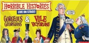 Horrible Histories Gorgeous Georgians Vile Victorians