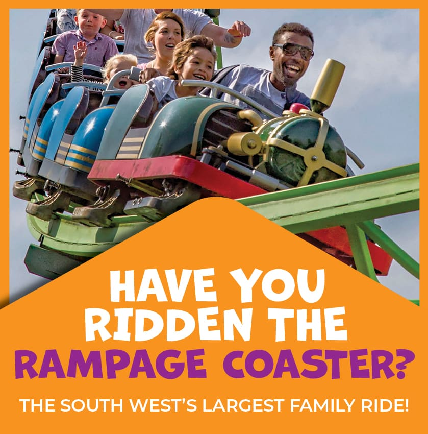 Have you Ridden the Rampage Coaster?