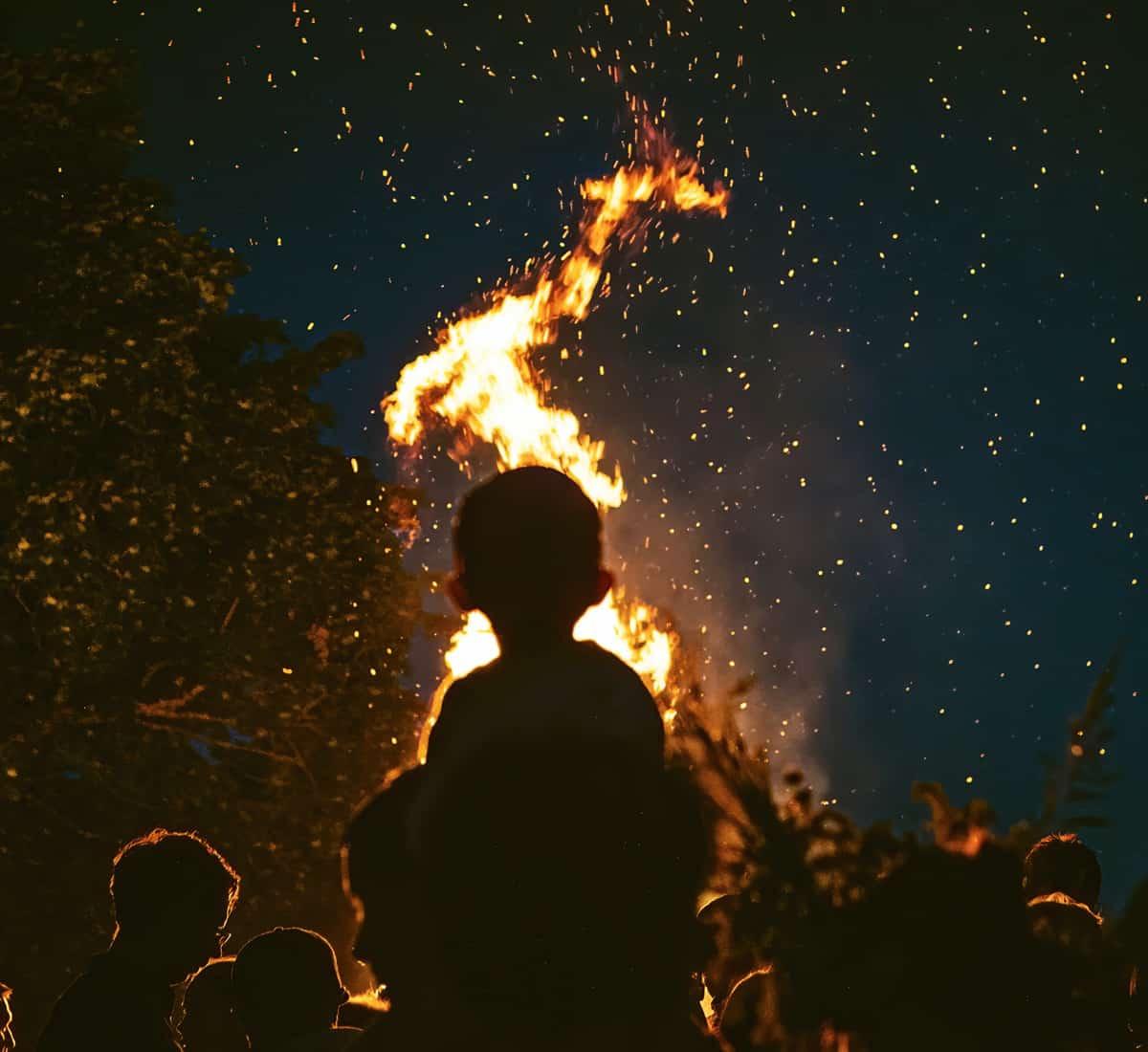 Bonfire & Fireworks